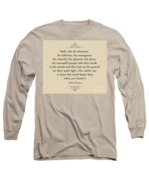 140- Wilfred Peterson Long Sleeve T-Shirt by Joseph Keane