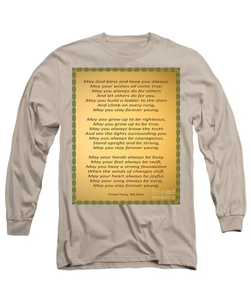 148- Bob Dylan Long Sleeve T-Shirt by Joseph Keane
