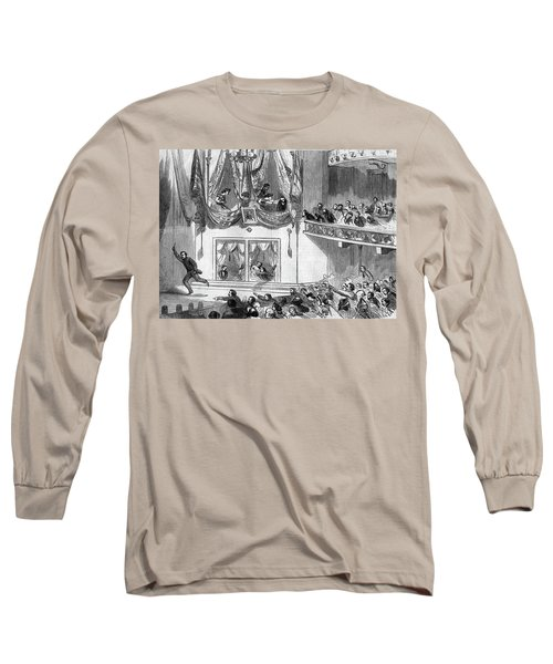 1860s April 15 1865 Assassination Long Sleeve T-Shirt