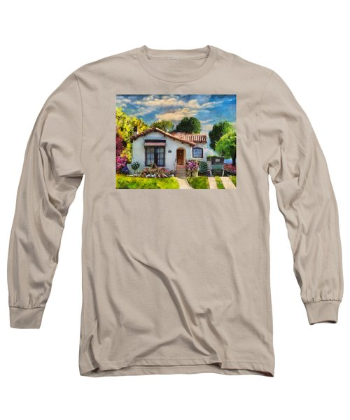 Alameda 1932  Spanish Beauty Long Sleeve T-Shirt by Linda Weinstock