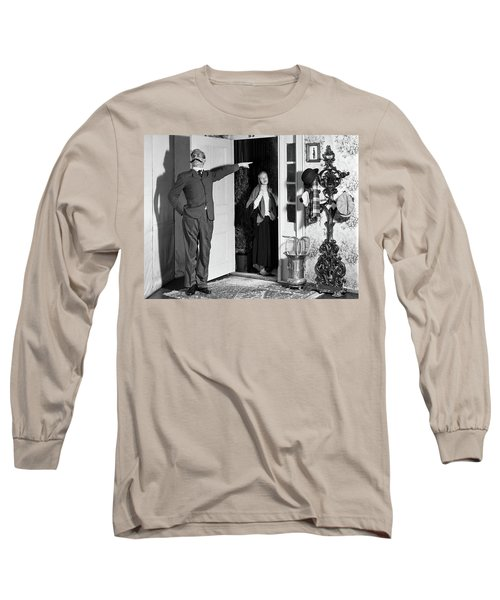 1950s Amateur Theater Turn Of The 20th Long Sleeve T-Shirt