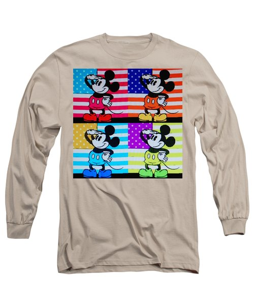 American Mickey Long Sleeve T-Shirt
