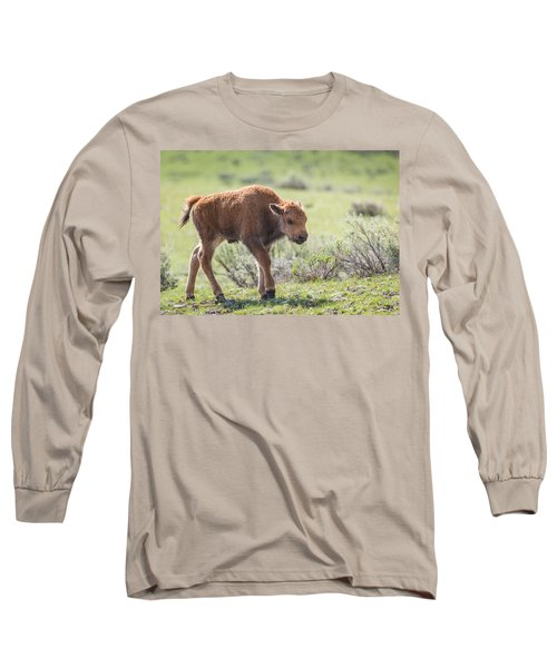 Bison Calf Long Sleeve T-Shirt