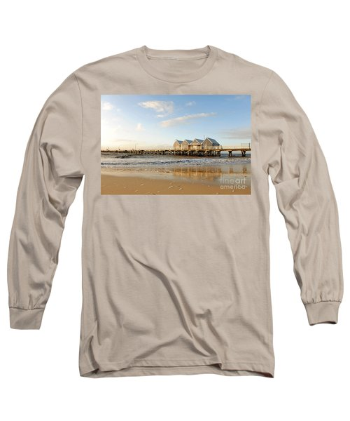 Busselton Jetty Long Sleeve T-Shirt by Yew Kwang