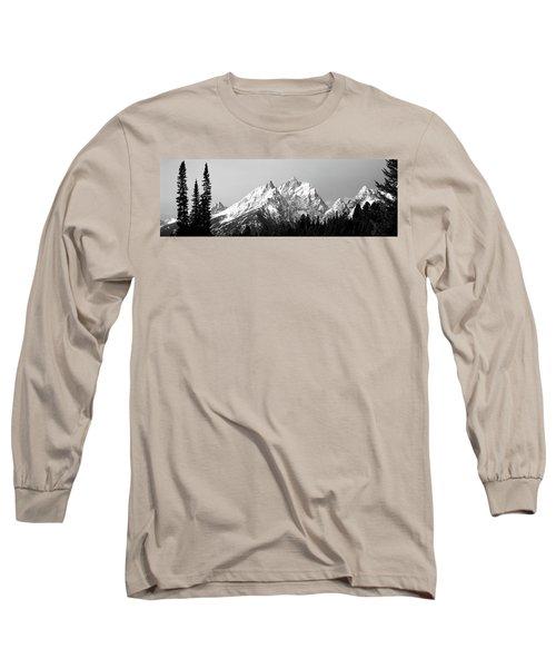 Cathedral Group Grand Teton National Long Sleeve T-Shirt