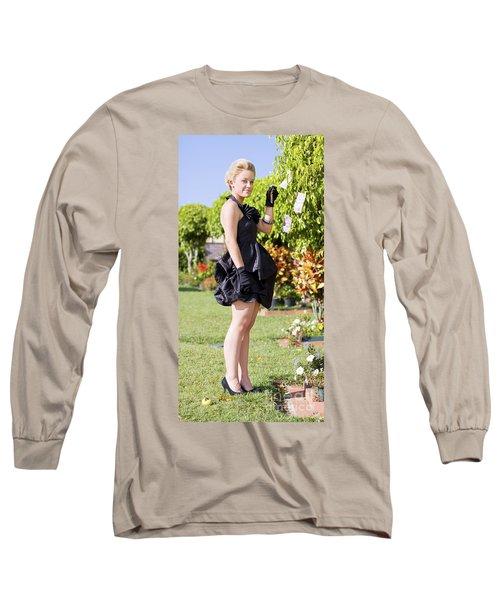 Classy Rich Woman Long Sleeve T-Shirt