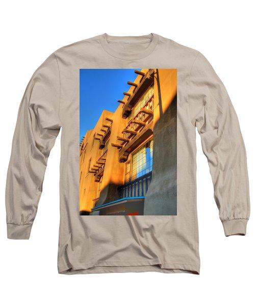 Downtown Santa Fe Long Sleeve T-Shirt