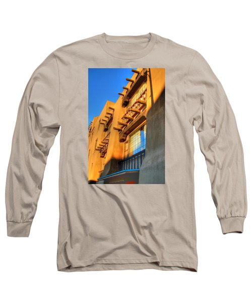 Downtown Santa Fe Long Sleeve T-Shirt