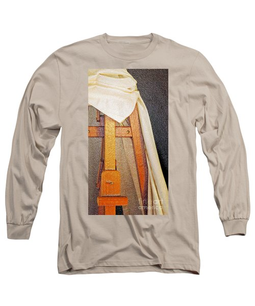 Draped Easel Long Sleeve T-Shirt