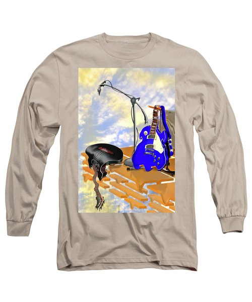 Electrical Meltdown II Long Sleeve T-Shirt by Mike McGlothlen