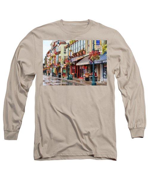 Findlay Market In Cincinnati 0009 Long Sleeve T-Shirt