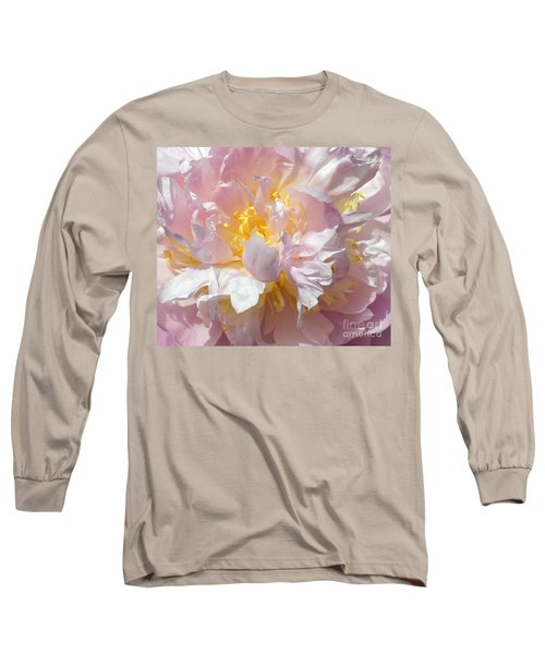 Long Sleeve T-Shirt featuring the photograph Flirtatious Pink by Lilliana Mendez