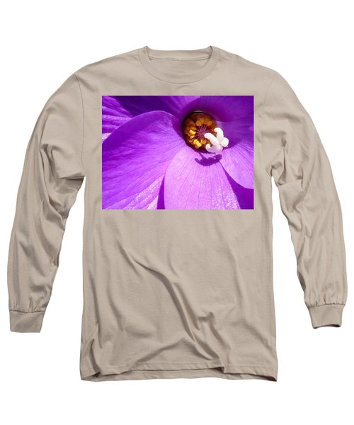 Flower Long Sleeve T-Shirt by Gandz Photography