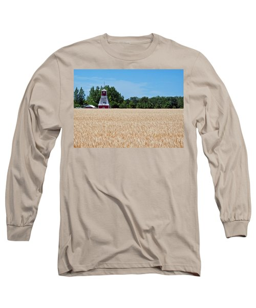 Fox Tower Long Sleeve T-Shirt by Keith Armstrong