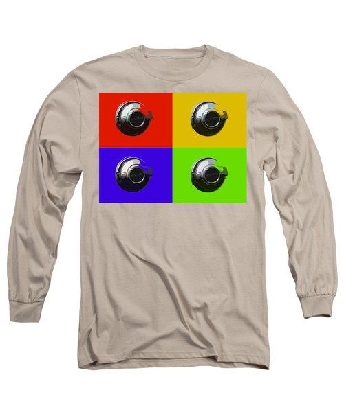 Fuel Cap In Bold Color Long Sleeve T-Shirt