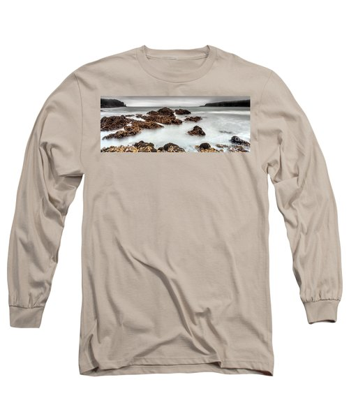 Grey Morning Long Sleeve T-Shirt by Steven Reed