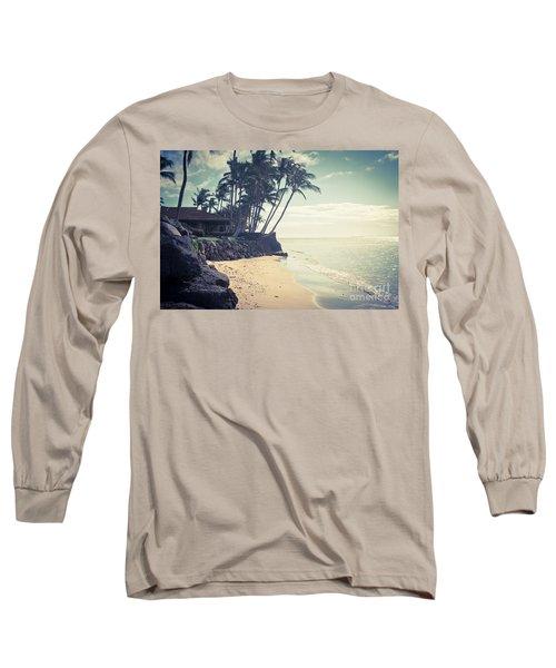 Long Sleeve T-Shirt featuring the photograph Kihei Maui Hawaii by Sharon Mau