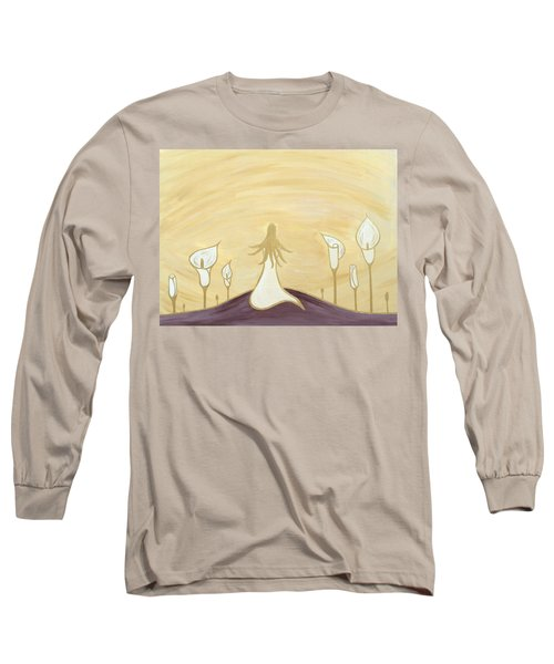 Lilies Of The Field Long Sleeve T-Shirt
