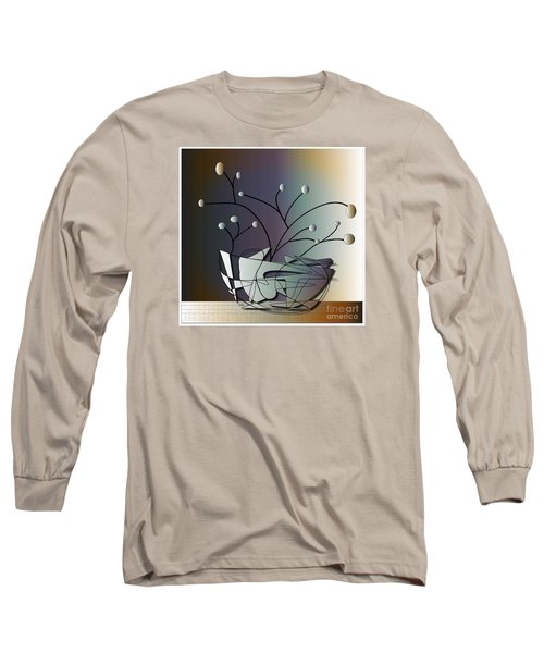 Mode Long Sleeve T-Shirt by Iris Gelbart