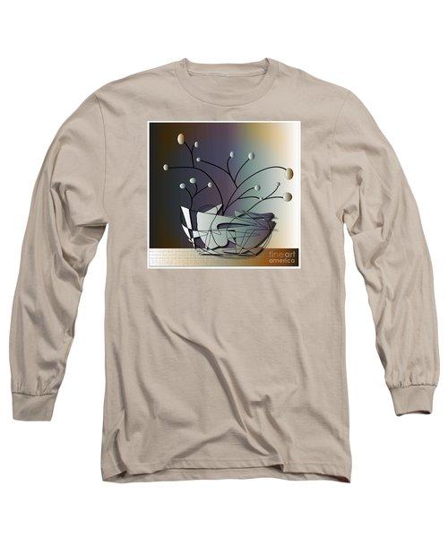 Long Sleeve T-Shirt featuring the digital art Mode by Iris Gelbart