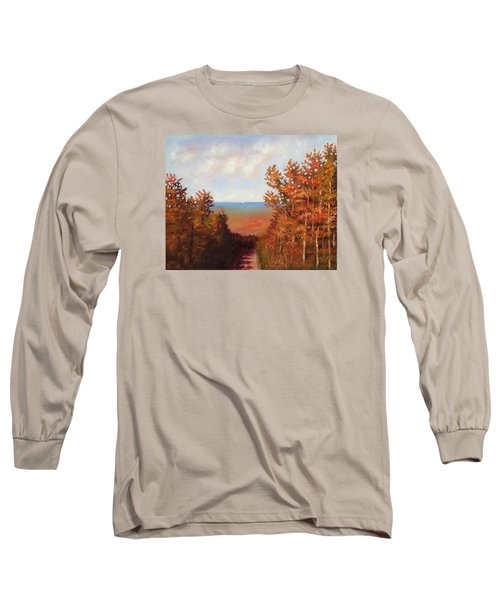 Mountain View Long Sleeve T-Shirt by Jason Williamson