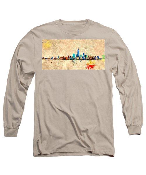 Nyc Grunge Long Sleeve T-Shirt