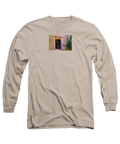 Pigeons And Morning Glories Long Sleeve T-Shirt by Michele Penner