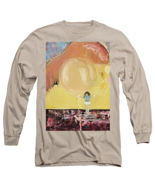 Playground Long Sleeve T-Shirt by Evelina Popilian