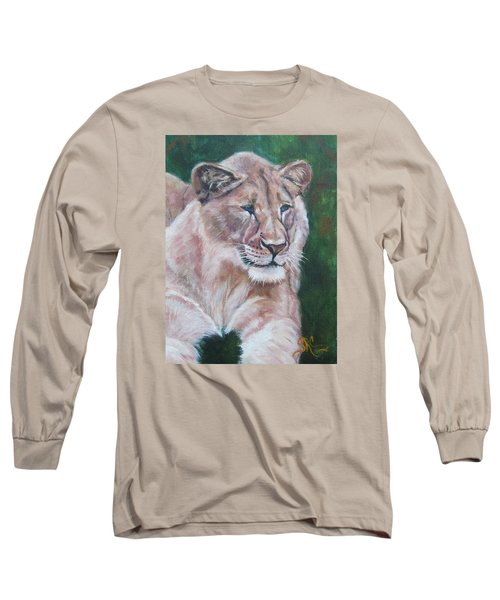 Queen Of The Beast,lioness Long Sleeve T-Shirt