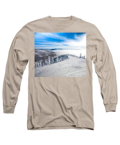 Ridgeline Long Sleeve T-Shirt by Aaron Aldrich