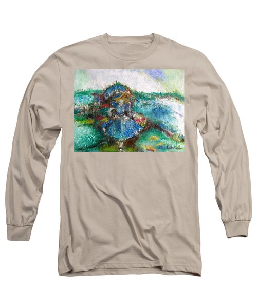 Roses For My Mother Long Sleeve T-Shirt by Laurie L