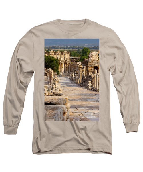 Ruins Of Ephesus Long Sleeve T-Shirt