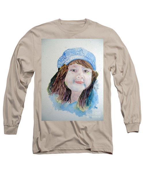 Sarah Long Sleeve T-Shirt by Sandy McIntire
