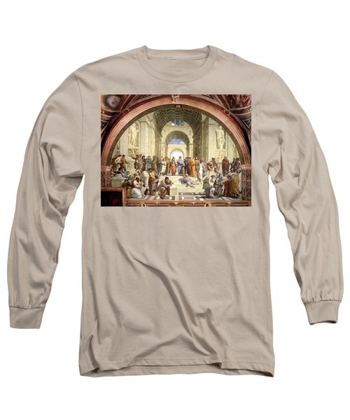 School Of Athens Long Sleeve T-Shirt
