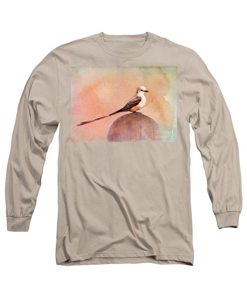 Scissor-tailed Flycatcher Long Sleeve T-Shirt