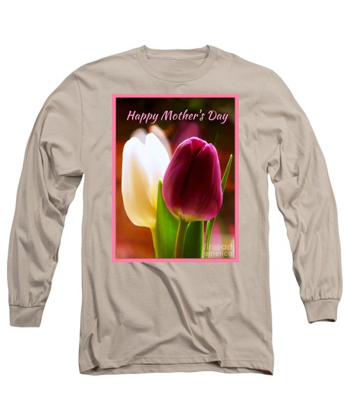 2 Tulips For Mother's Day Long Sleeve T-Shirt