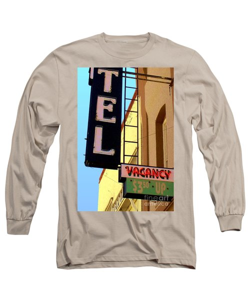 Vacancy Long Sleeve T-Shirt by Valerie Reeves