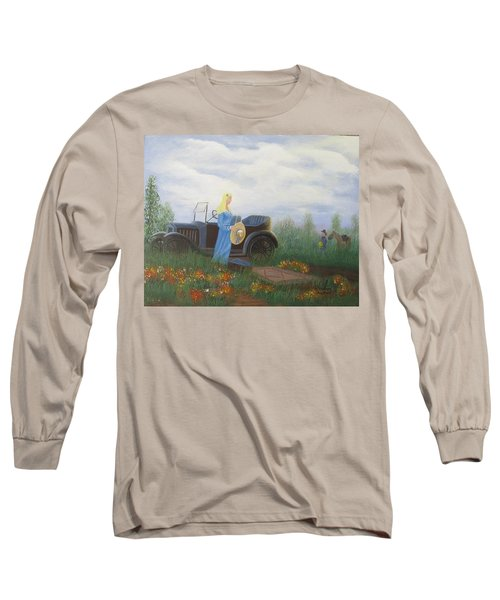 Waiting For A Picnic Long Sleeve T-Shirt