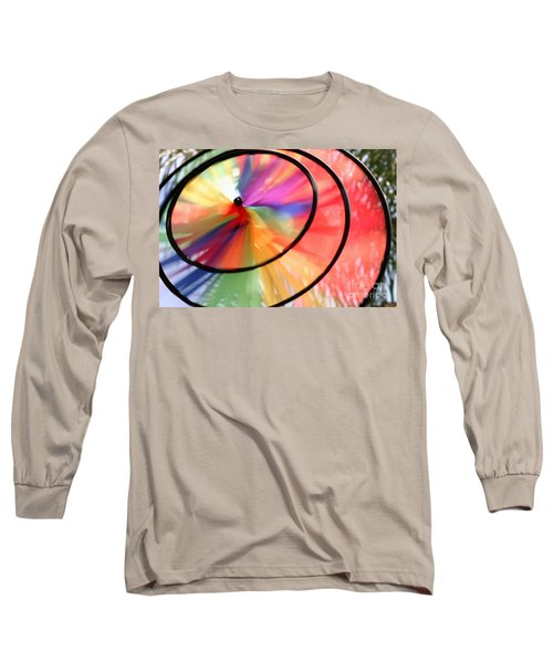 Long Sleeve T-Shirt featuring the photograph Wind Wheel by Henrik Lehnerer