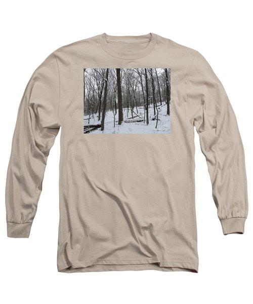 Winter Solitude Long Sleeve T-Shirt