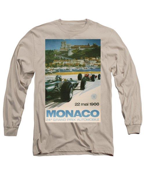 24th Monaco Grand Prix 1966 Long Sleeve T-Shirt