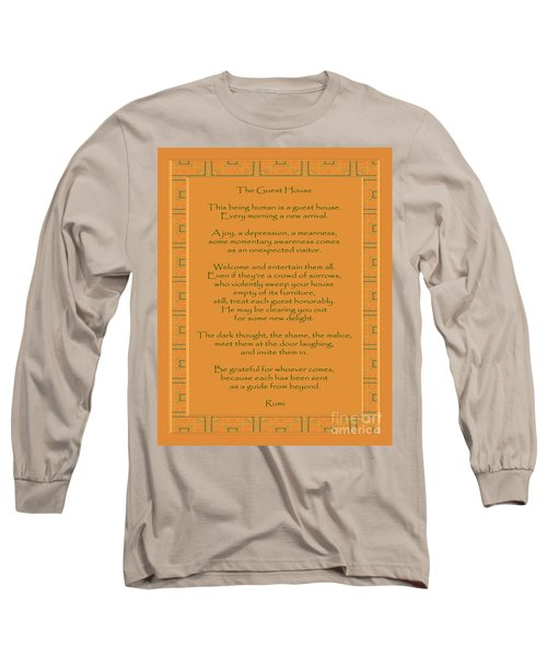 29- The Guest House Long Sleeve T-Shirt by Joseph Keane