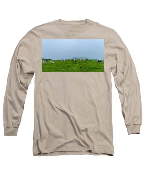 Cows In The Field Long Sleeve T-Shirt