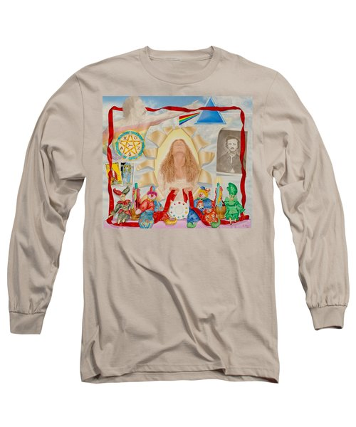 Invocation Of The Spectrum Long Sleeve T-Shirt by Rich Milo