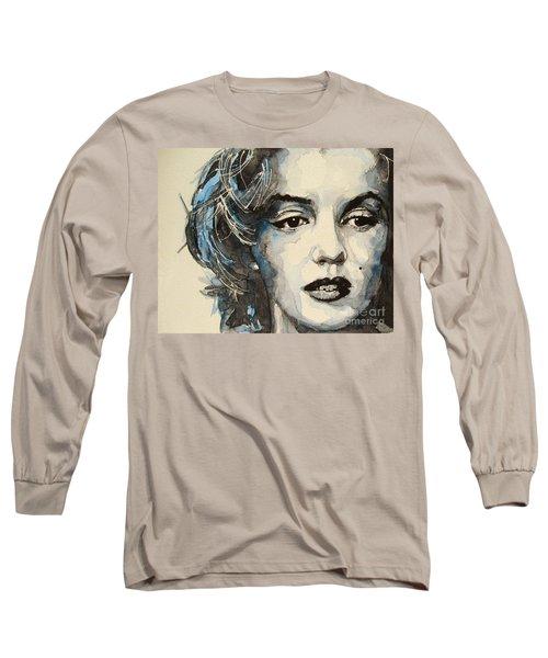 Marilyn Long Sleeve T-Shirt by Paul Lovering