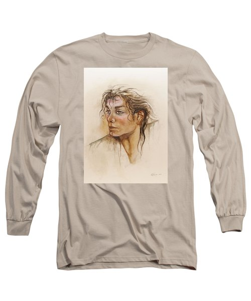 Michael Life Unfinished Long Sleeve T-Shirt