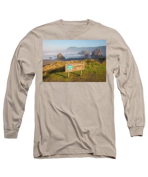 Pistol River State Park, Oregon Long Sleeve T-Shirt