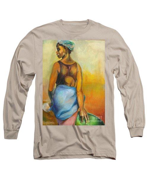 Wash Day Long Sleeve T-Shirt by Daun Soden-Greene