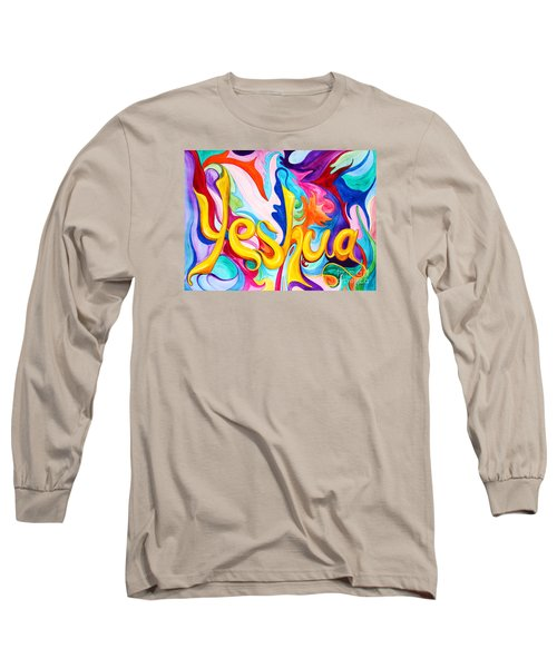 Yeshua Long Sleeve T-Shirt by Nancy Cupp