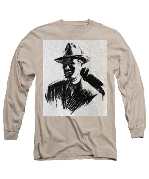 Secret Agent Study 2 Long Sleeve T-Shirt